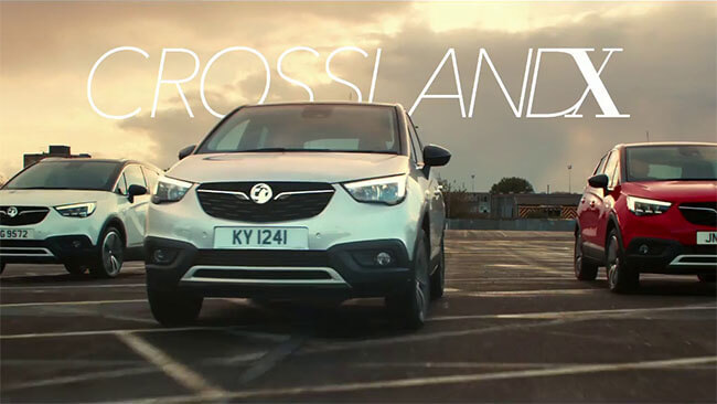 Vauxhall Crossland X Advert